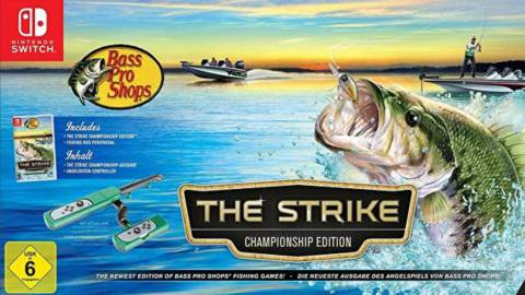 Bass Pro Shops The Strike llegará a Switch con caña de pescar