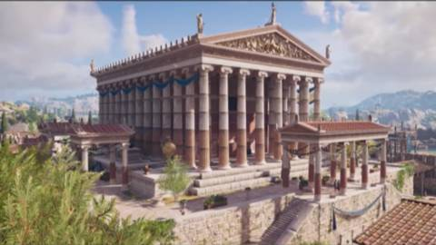 Assassin's Creed Odyssey deslumbra con su tour por Atenas