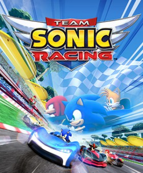 Carátula de Team Sonic Racing
