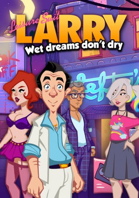 Carátula de Leisure Suit Larry: Wet Dreams Don't Dry
