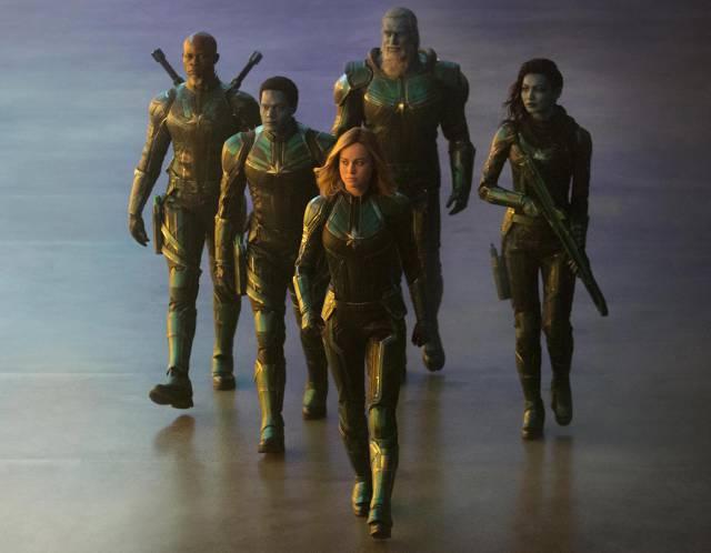 Primeras imágenes oficiales de Brie Larson como Capitana Marvel