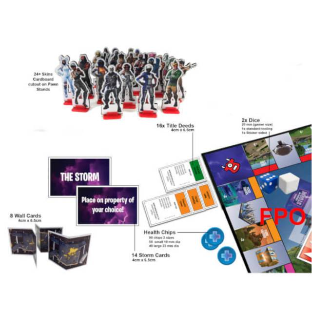Fortnite Battle Royale Tendra Su Propio Monopoly Meristation