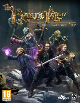 Carátula de The Bard's Tale IV: Barrows Deep