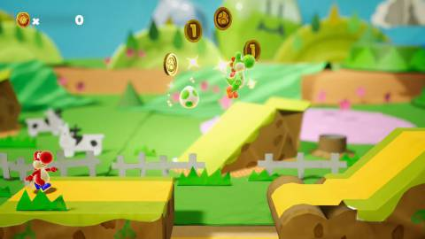 Yoshi's Crafted World enamora en el Nintendo Direct
