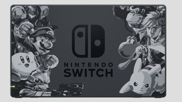 La Preciosa Nintendo Switch De Super Smash Bros Ultimate Meristation