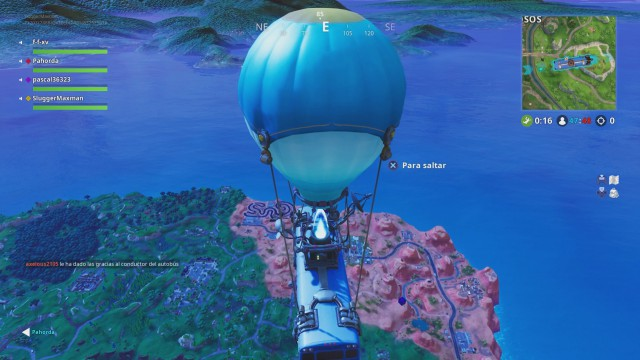 fortnite battle royale cubo morado gigante