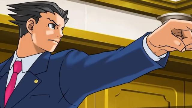 Ace Attorney Nintendo Switch