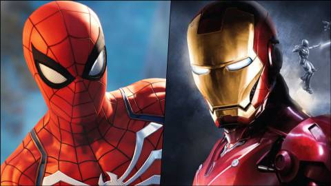 Spider-Man Iron Man
