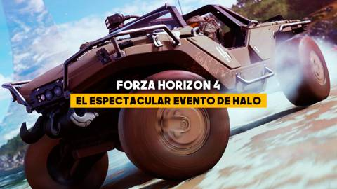 El espectacular evento de Halo en Forza Horizon 4