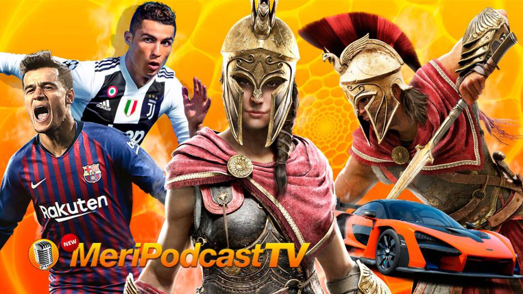 MeriPodcast 12x04: FIFA 19 vs. PES 19, Assassin s Creed Odyssey y Red Dead Redemption 2
