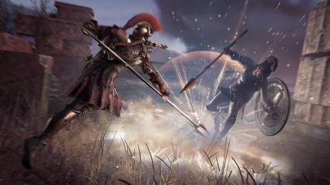 Assassin's Creed Odyssey sorprende con un gameplay en Switch
