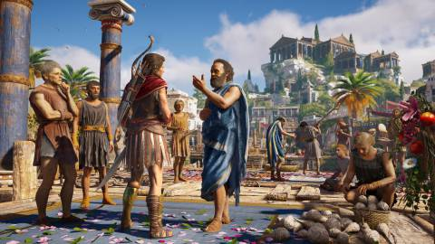Mundos abiertos: la Grecia de Assassin's Creed Odyssey