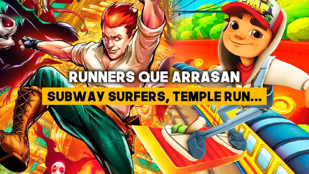 Subway Surfers, Temple Run 2 y otros runner que arrasan