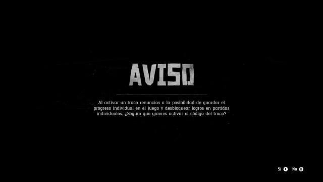 Todos Los Trucos Y Codigos De Red Dead Redemption 2 Para Ps4 Y Xbox