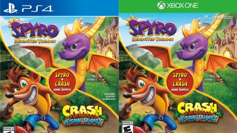 6 por 1: el pack Spyro Reignited Trilogy + Crash Bandicoot Trilogy