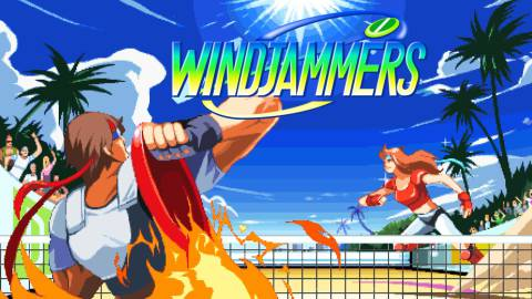Windjammers: cuando los e-sports estaban en recreativas