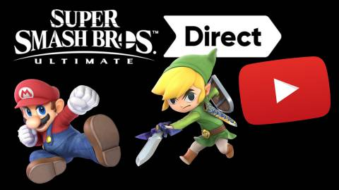 Sigue aquí en directo el Super Smash Bros. Ultimate Direct