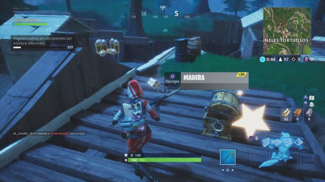 Fortnite Battle Royale Desafios De La Semana 6 De La Temporada 6