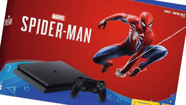 Marvel's Spider-Man PS4 Slim