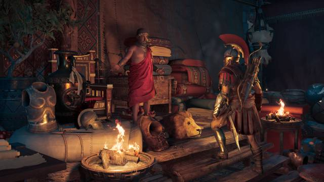 Ubisoft paraliza los eventos temporales de mercenarios en Assassin's Creed Odyssey