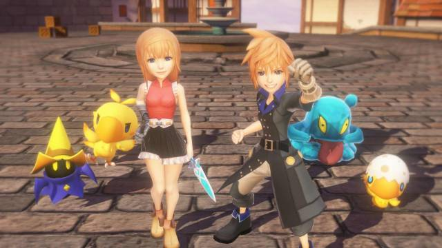 World of Final Fantasy Maxima incluirá un modo Nueva Partida +