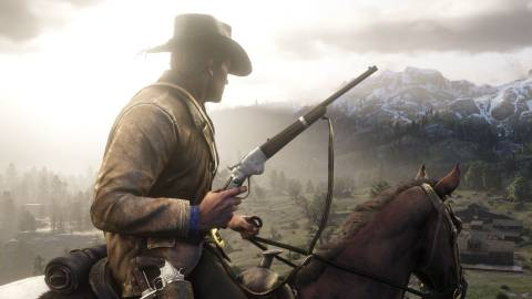 Red Dead Redemption 2, tercera semana líder en UK
