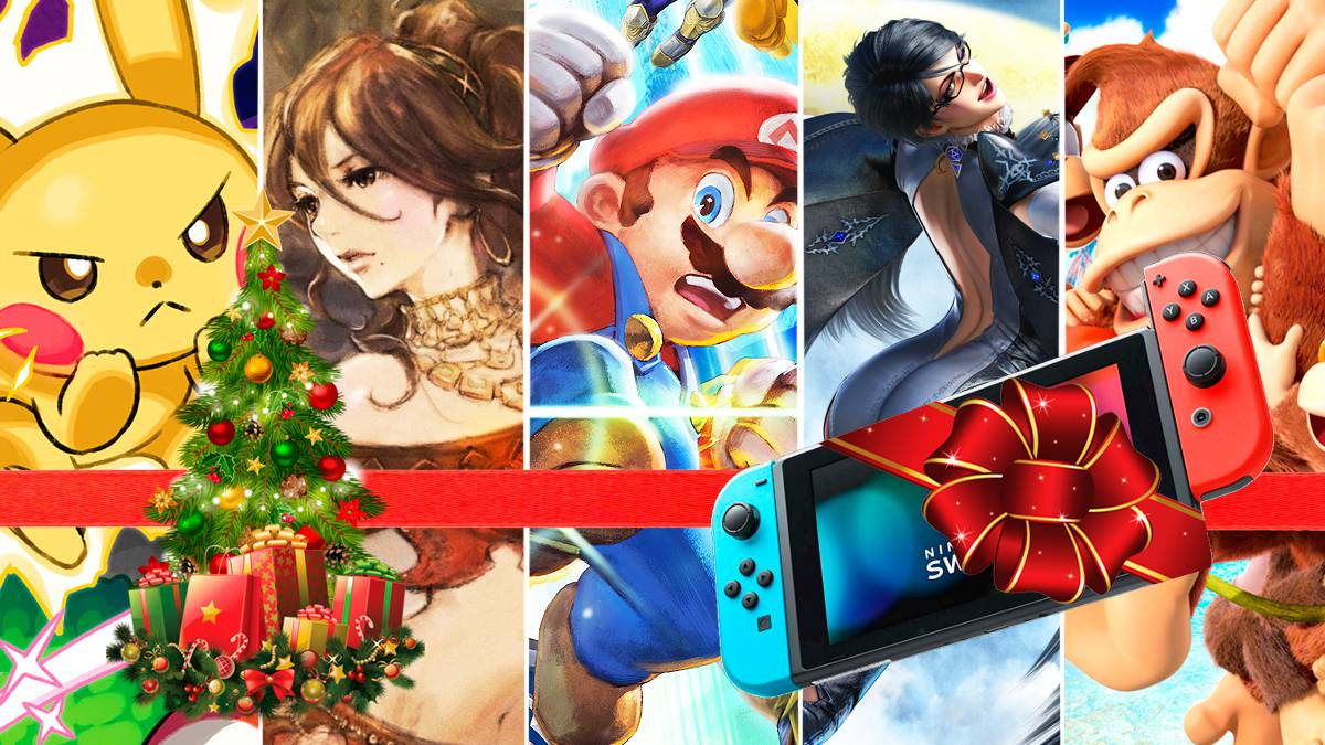 Guía para comprar los mejores juegos de Nintendo Switch en Navidad