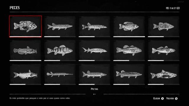Todos los peces de Red Dead Redemption 2 - MeriStation
