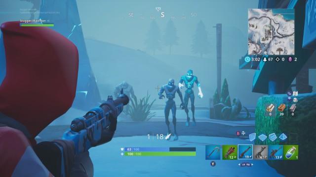 fortnite battle royale desafios tormenta de hielo desafio destruye demonios de hielo - inventario fortnite ps4
