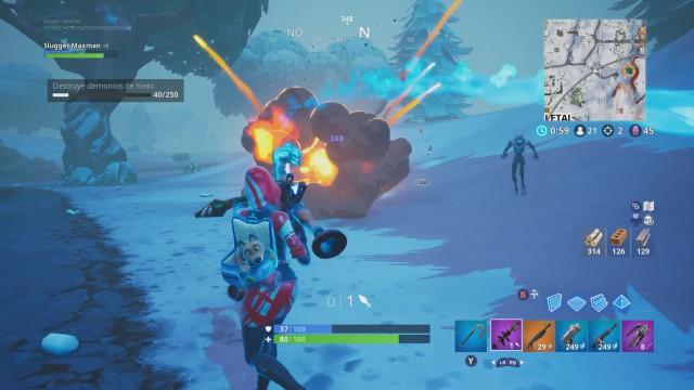 Fortnite Battle Royale: Desafíos de Tormenta de Hielo