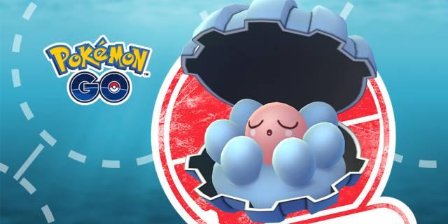Pokémon GO mision clamperl