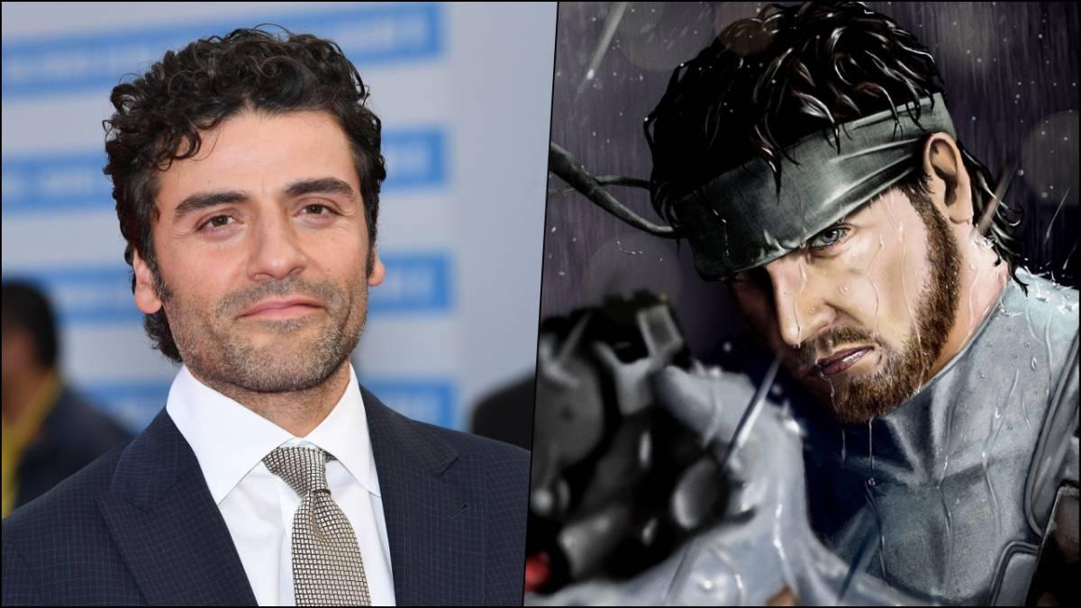 Oscar Isaac y Solid Snake