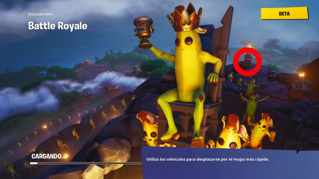 Fortnite Estandarte Secreto Semana 4 Temporada 8 Meristation