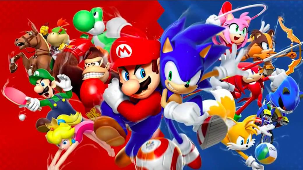 Sega Anuncia Mario Y Sonic En Los Juegos Olímpicos De Tokio 2020 Y 3 Títulos Más De Los Jjoo Meristation