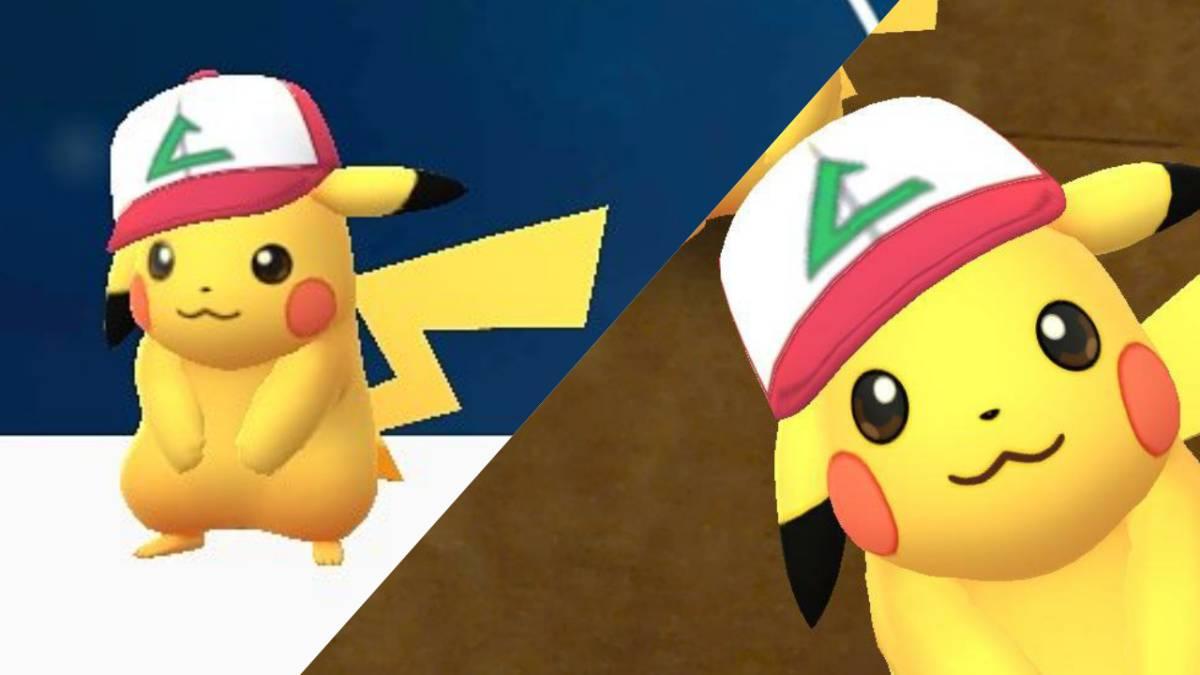 f2173a294 Pokémon GO  Pikachu con Gorra de Ash regresa por el April s Fools ...