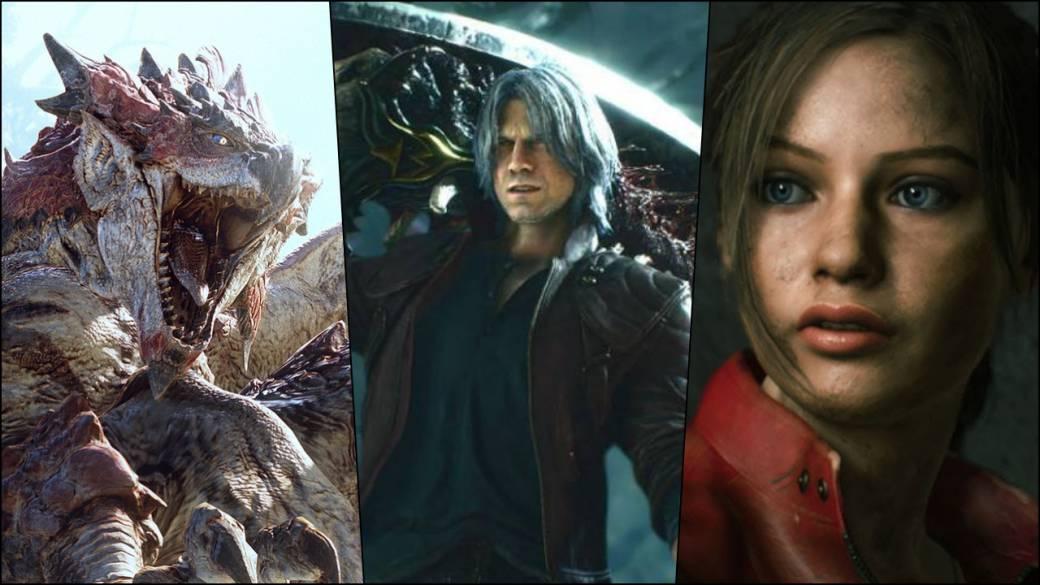 Capcom Destroys His Trident Monster Hunter World Resident Evil 2