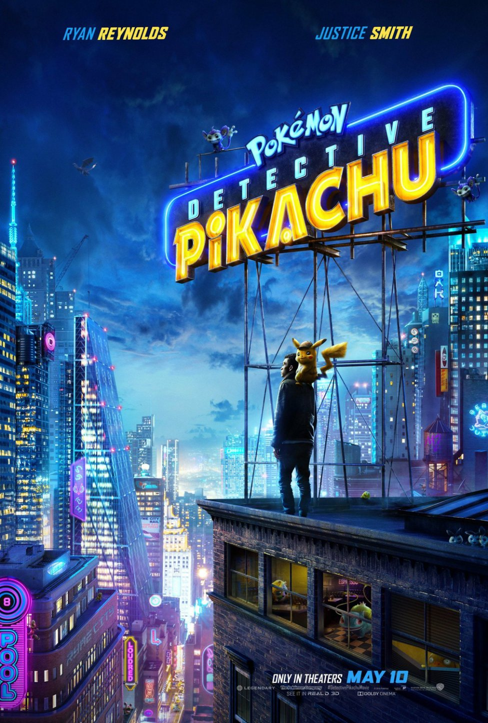 Pokemon Detective Poster
