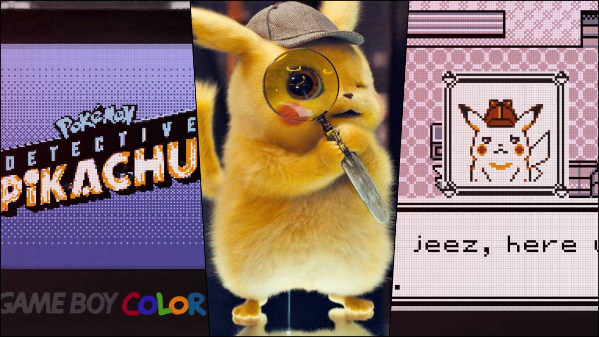 c93ba0e6ff0 Imaginan cómo sería Pokémon: Detective Pikachu para Game Boy Color ...