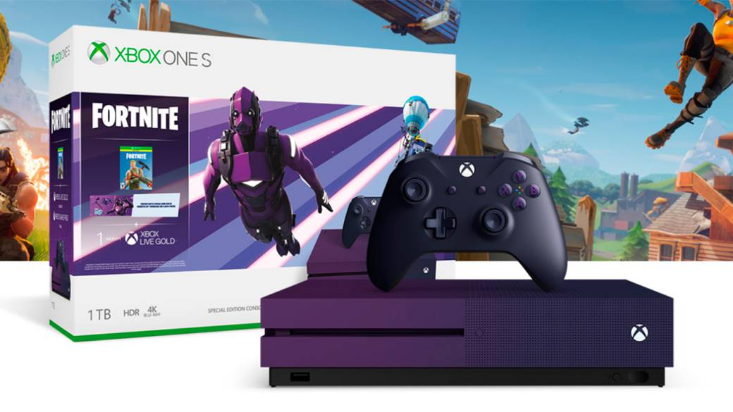 Asi Es La Xbox One S Edicion Fortnite Battle Royale Por 299 Euros