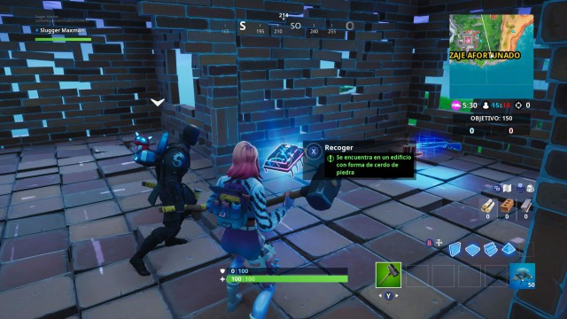 Fortnite: Cómo Conseguir El Fortbyte #69 En Un Edificio