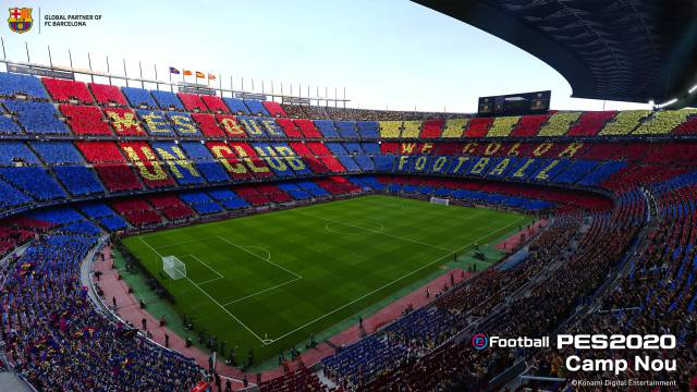 camp nou pes 2020 no en fifa