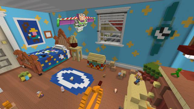 Toy Story comes to Minecraft full of content and avatars