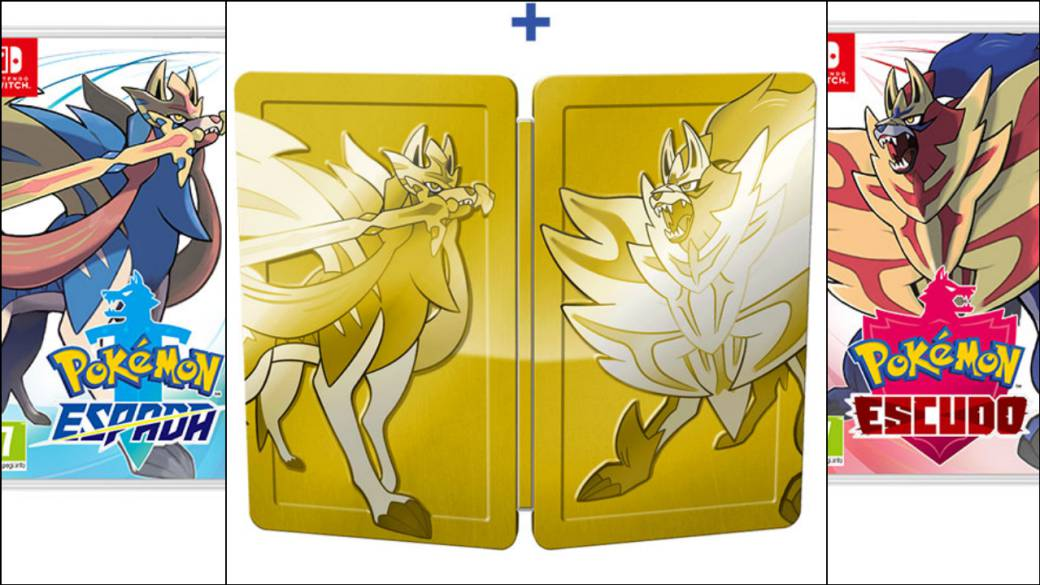 Preventa Pokemon espada /& escudo soflamas tinieblas 2-Pack-blister alemán