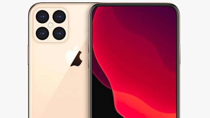 iPhones con nuevo diseño y cámara bajo pantalla con esta nueva ...