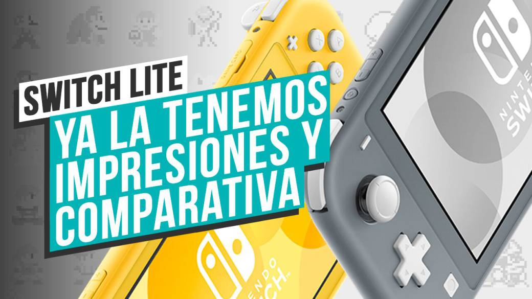 Nintendo Switch Lite: Unboxing y comparativa con la original