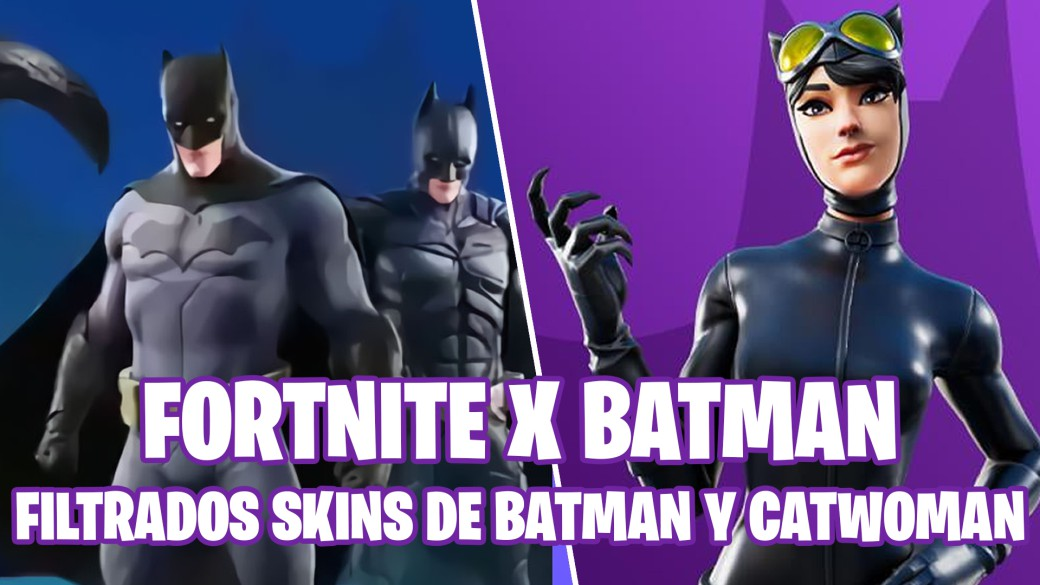fortnite battle royale temporada 10 temporada x evento batman skins batman catwoman filtrados