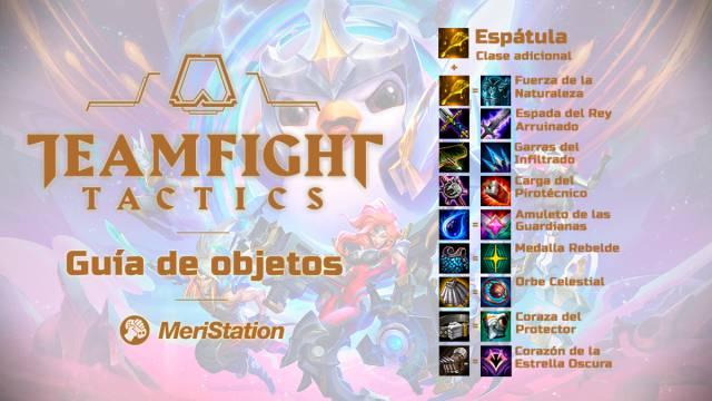 Object guide TFT Teamfight Tactics League of legends Master Tactics