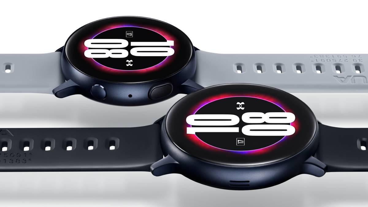 Permeabilidad Pavimentación escarcha  Under Armour, la edición del Samsung Galaxy Watch Active2 para corredores -  AS.com