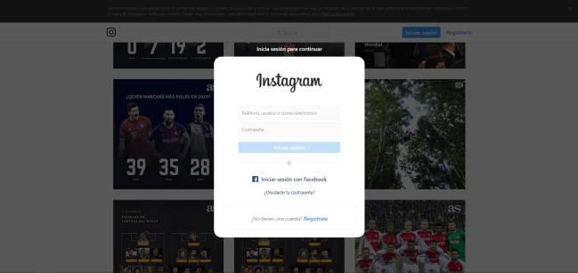 instagram bloqueo