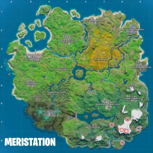 fortnite capitulo 2 temporada 1 desafios hide and seek desafio visita lugares emblematicos en una misma partida mapa
